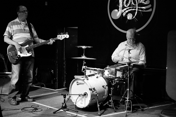 David Shepherd - bass guitar.