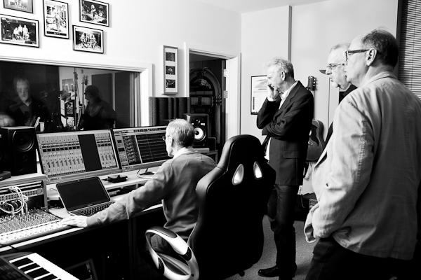 In the studio October 2014