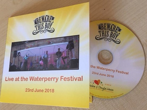 Live at Waterperry Festival June 2018