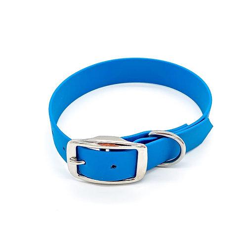 "2,5cm Halsband ""simple Biothane petrol"" Halsumfang: 33-41cm"