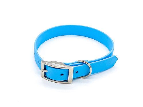 "1,9cm Halsband ""simple Biothane türkis"" Halsumfang: 30-38cm"