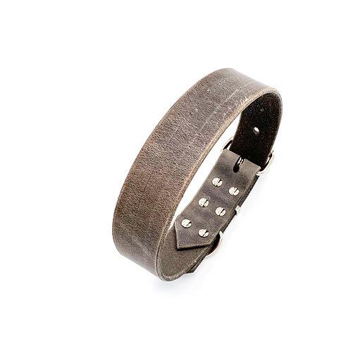 "3cm Halsband ""beef grey"" Halsumfang: 30-38cm"
