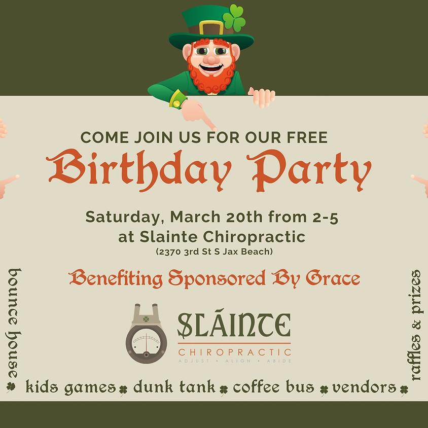 4th Birthday Party Reschedule