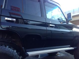 ランクル70事故修理車の納車