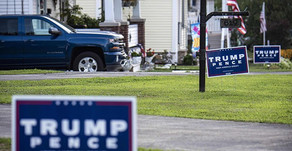 Man Installs Electric Fence to Guard Trump 2020 Sign