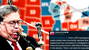 Media Misrepresented BARR's Statements On Election Fraud Investigations