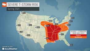 Cold outbreak will play key role in spring tornado threat