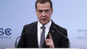 Russia's Medvedev: We Are in 'a New Cold War'