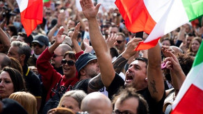 Watch: 'F*ck Joe Biden' Goes Global as Protesters Shout in Rome