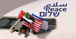 First Commercial Passenger Flight from UAE Lands in Israel