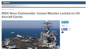 IRAN WARNS US OF WAR – Missiles Are Locked on US Aircraft Carrier USS Truman