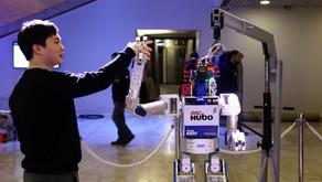 Davos Robot Eclipses Davos Man as Gloom Descends on World Elite