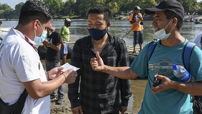 Some in Migrant Caravan Carry Fake COVID-19 Test Results, Say Guatemalan Officials
