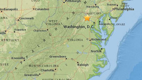 Earthquake shakes Northern Virginia and West Virginia