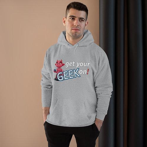 Get your GEEK on! Unisex EcoSmart® Pullover Hoodie Sweatshirt