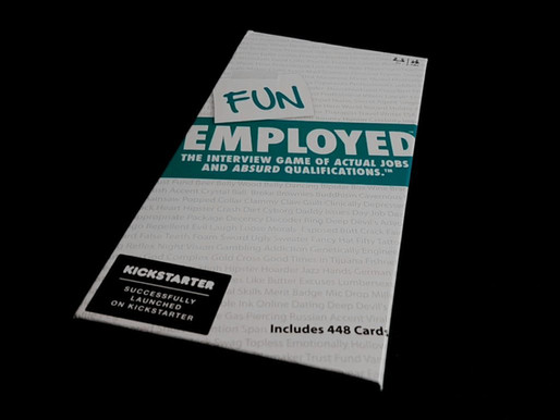 Can you get the job? Get past the interview first, in FUNEMPLOYED!