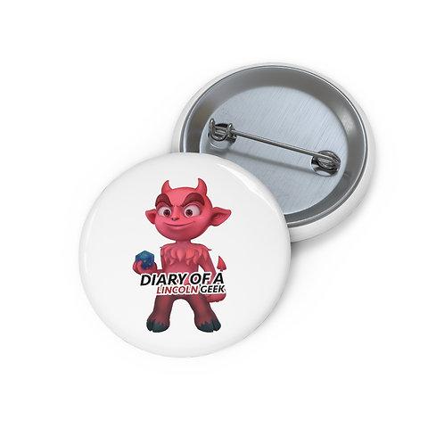 NEW Logo Custom Pin Buttons