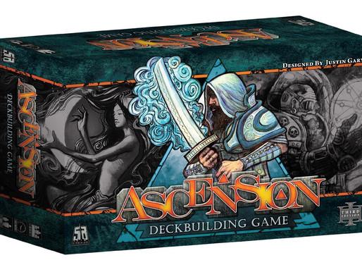 Ascension - entry level deck builder?? Let's see...
