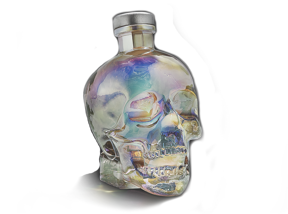 Crystal Head Vodka Aurora Bottle