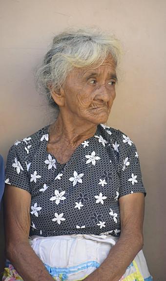 El Salvadorian lady
