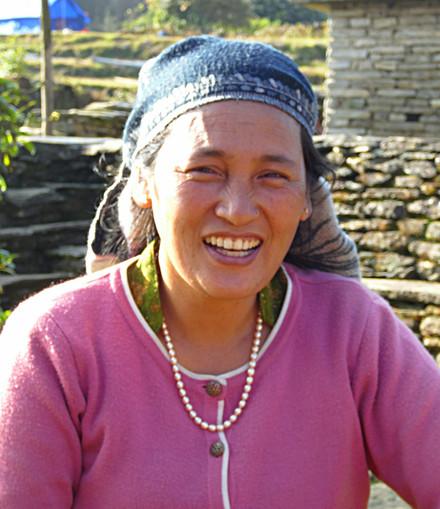 Nepali lady