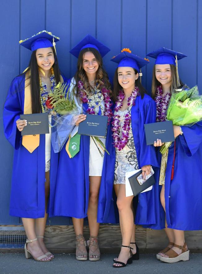 Graduation photos friends