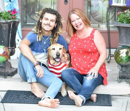Thompson family photo