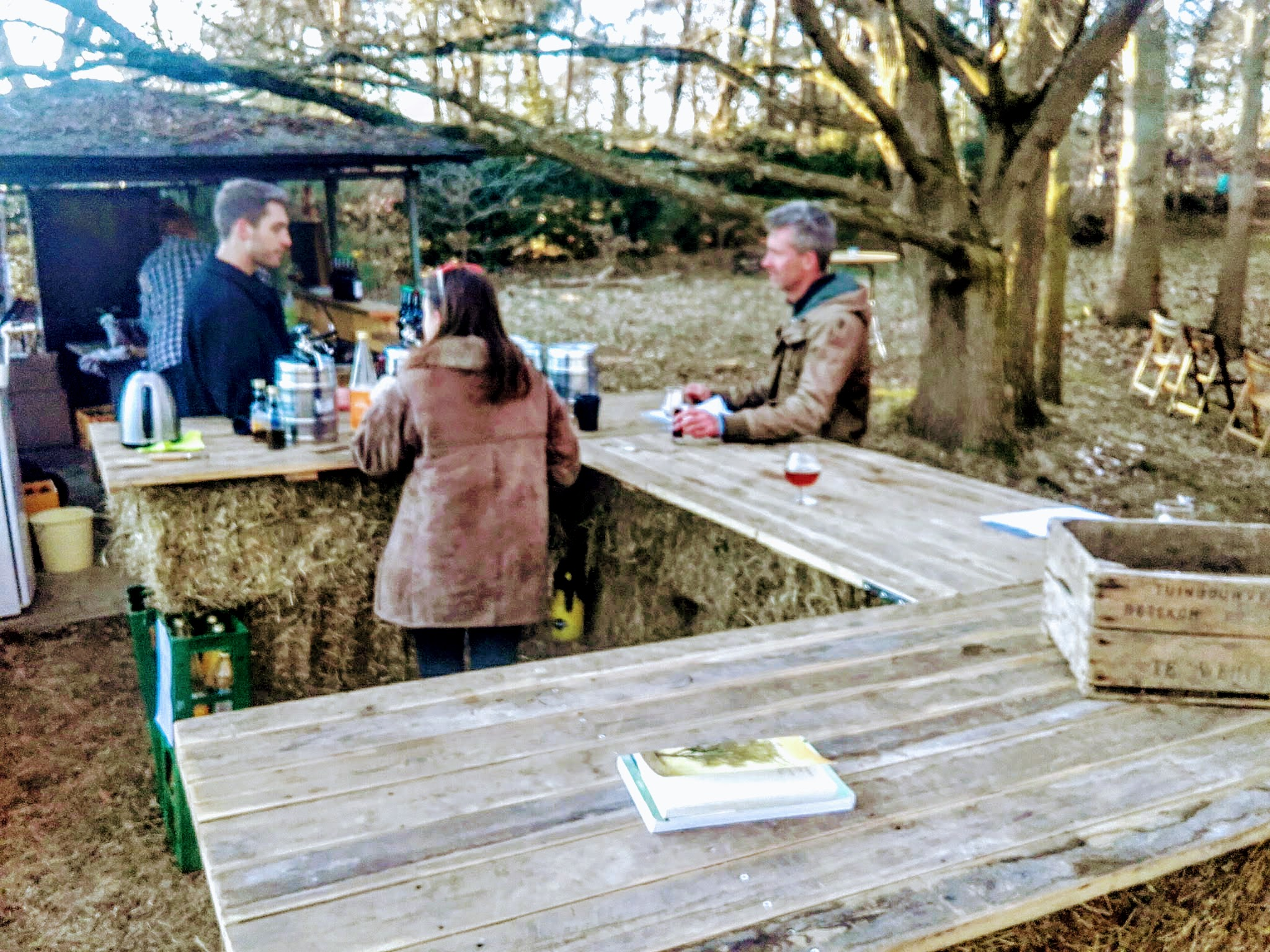 Hooibaal bar