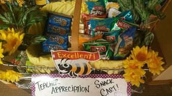 Teachers' Snack Cart