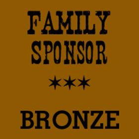 Family Sponsor (BRONZE)