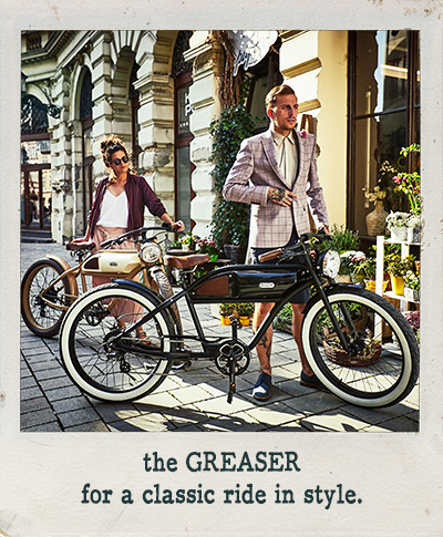 GREASER for a classic ride in style