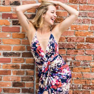 Sonya - Flower Dress