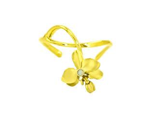 Orquid Flower Bracelet