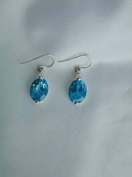 Blue Topaz Drops