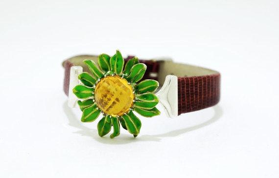 Sun Flower Bracelet