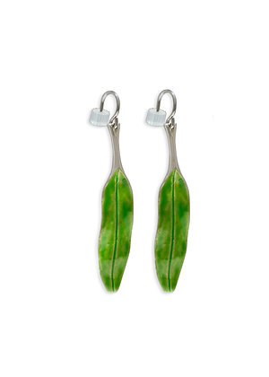 Medium Olive Branch, Earrings