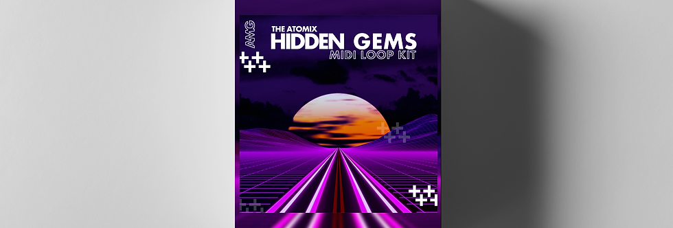 "HIDDEN GEMS MIDI + LOOP KIT [USE CODE: ""DROPGEMS""]"
