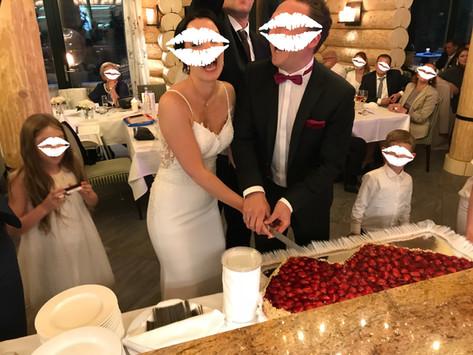 Brautpaar im Weberhaus