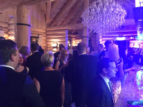 Hochzeitsparty im Weberhaus