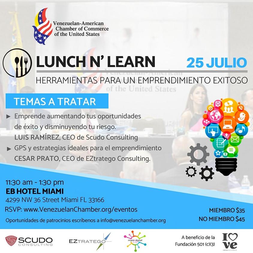 Lunch n' Learn: Herramientas para un Emprendimiento exitoso