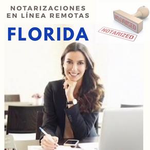 Florida aprobó Ley de notarizaciones en línea remotas
