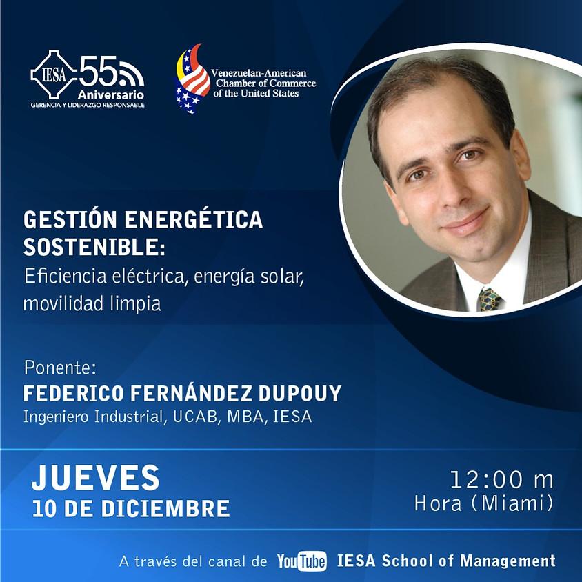Gestión Energética Sostenible: Eficiencia eléctrica, energía solar, movilidad limpia