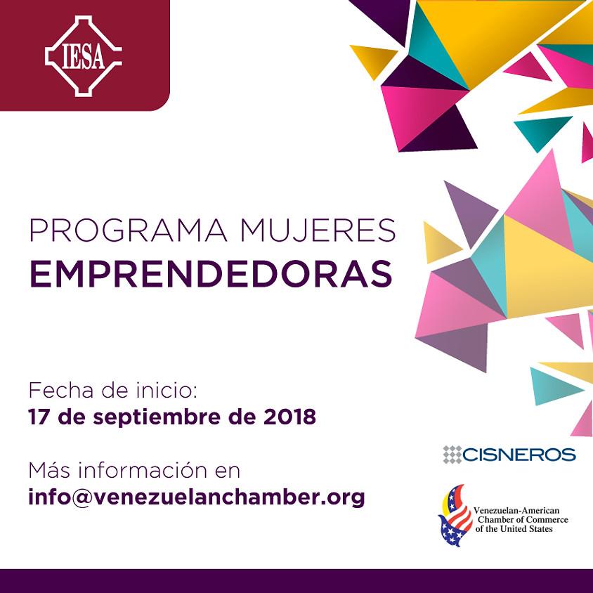 Programa para Mujeres Emprendedoras