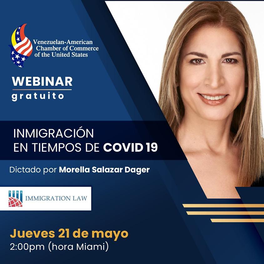 Webinar: Inmigración en tiempos de COVID-19
