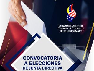 Convocatoria a Elecciones de Junta Directiva 2019 - 2022