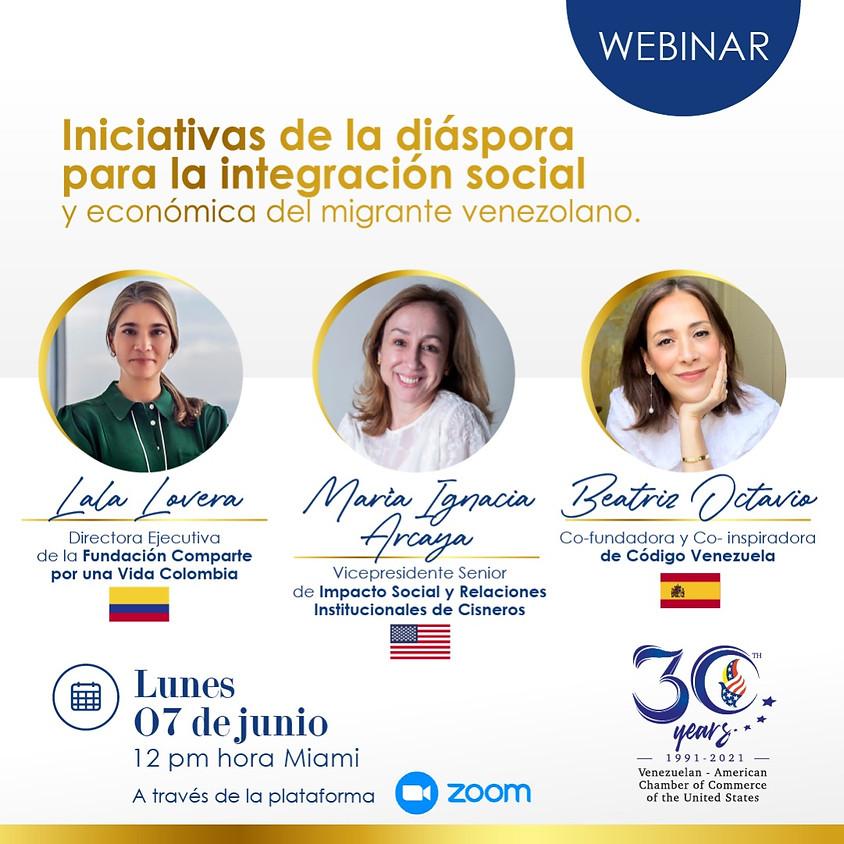 Iniciativas de la Diáspora para la Integración Social