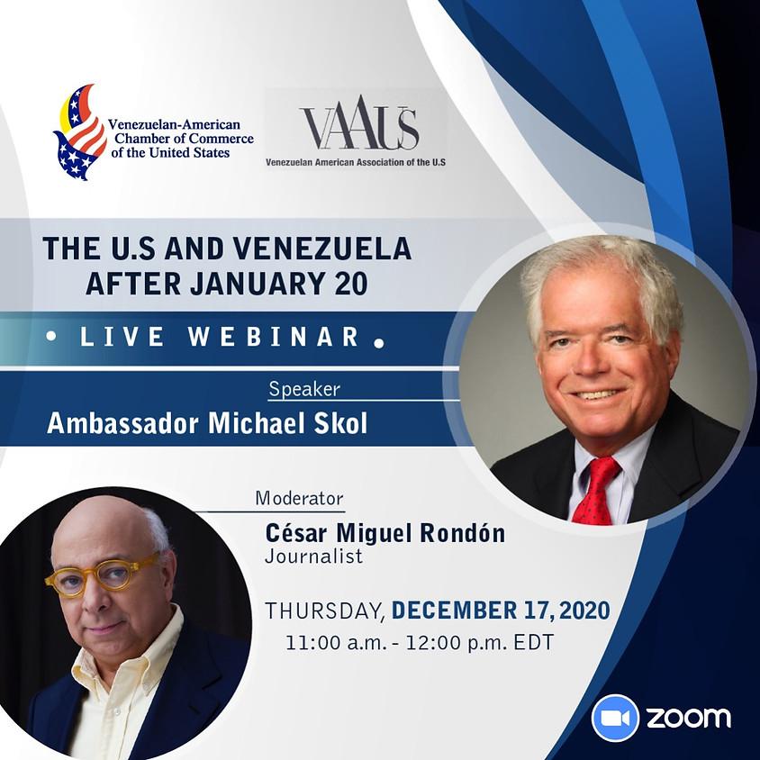 The U.S and Venezuela after January 20