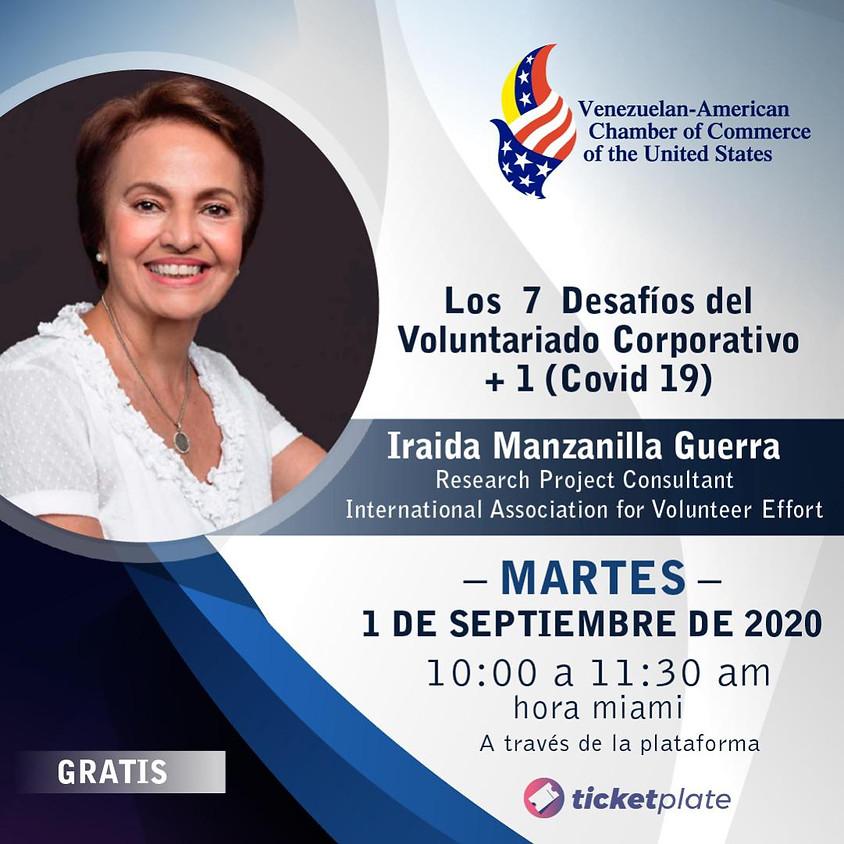 """""""Los 7 Desafíos del Voluntariado Corporativo + 1 (Covid 19)"""""""