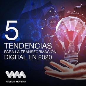 5 Tendencias para la transformación digital en el 2020
