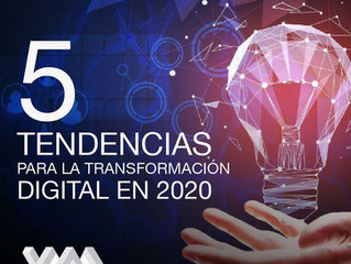 5 Tendencias para la transformación digital en el 2020